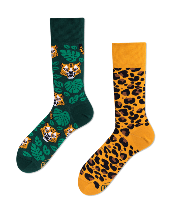 Many Mornings Socks Leopard