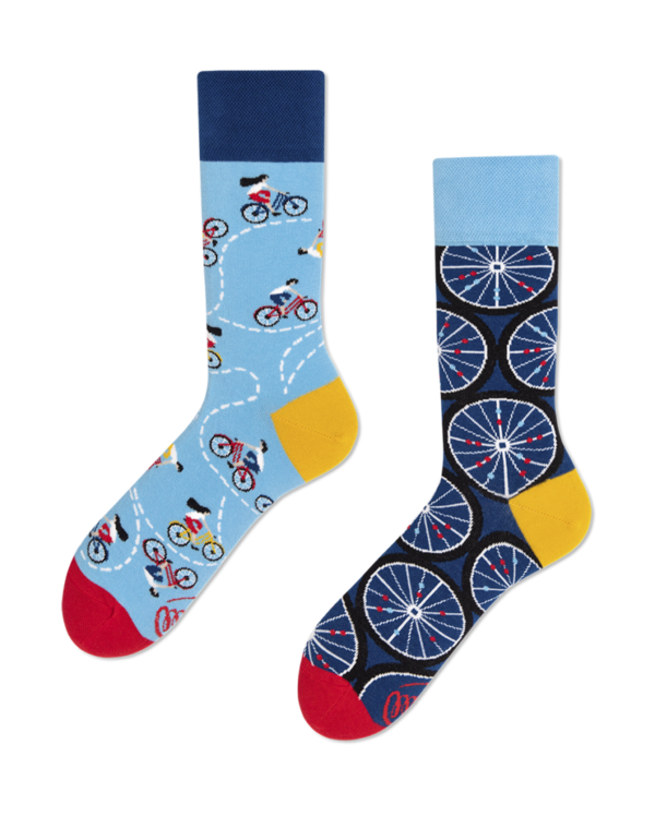 Many Mornings Socks Bicycles