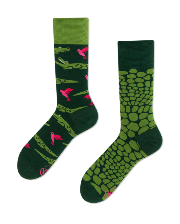 Many Mornings Socks Krokodil